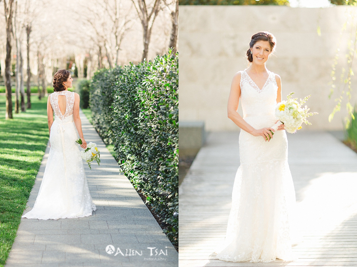 Destination Wedding Dresses Dallas : Sculpture center bridals ashley dallas wedding photographer allen tsai