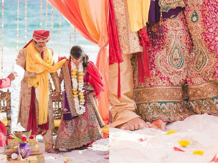 hilton_sandestin_wedding_hindu_beach_ceremony