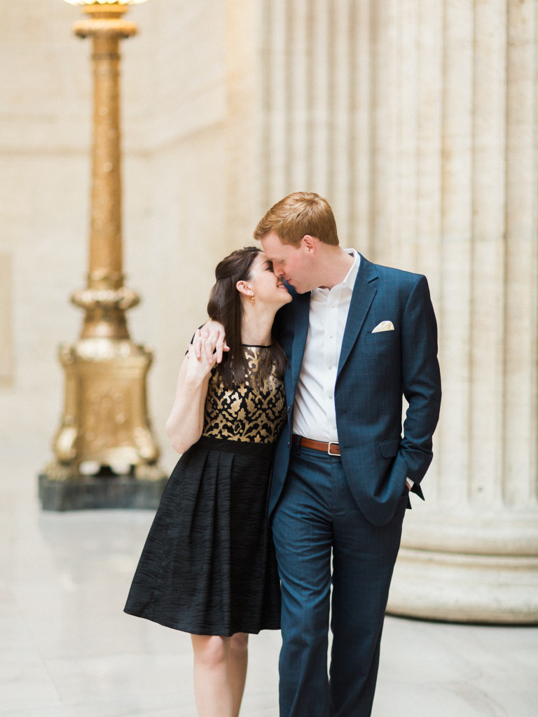 Chicago Engagements Dallas Destination Wedding Photographer Union Station