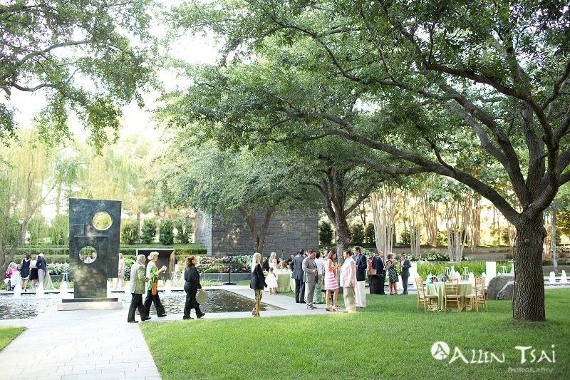 Nasher Sculpture Center Garden Wedding Rehearsal Dinner Dallas Photographer Allen Tsai Photography